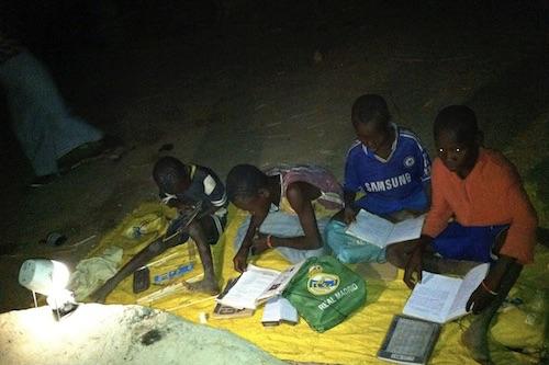 Sharing light to study