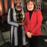 Princess Abze Djigma with Manuela Kasper-Claridge DW