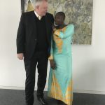 Princess Abze Djigma with Peter Limbourg DW
