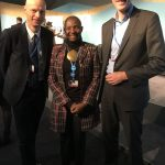 Princess Abze Djigma with Henk Ovink and Marcel Beukeboom