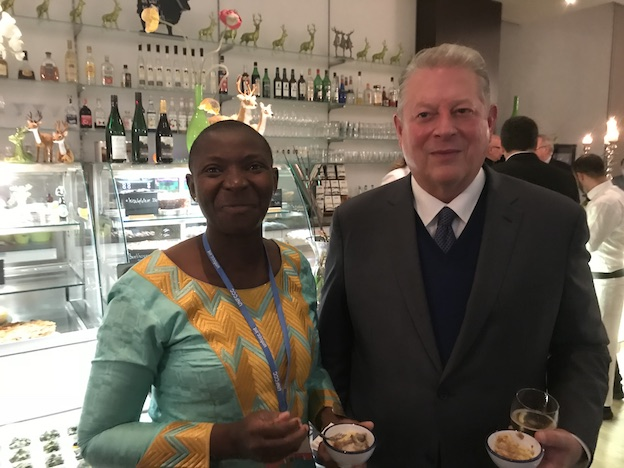Princess Abze djigma with Al Gore