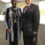 Princess Abze Djigma with Dr. Patrick Gomes (ACP)