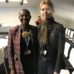 Princess Abze Djigma with Lise Kingo